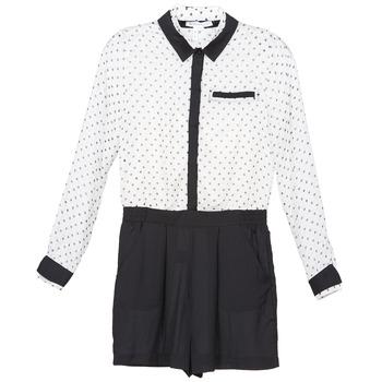 Kleidung Damen Overalls / Latzhosen BCBGeneration ANITA Weiss