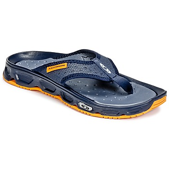 Schuhe Herren Zehensandalen Salomon RX BREAK Blau / Orange