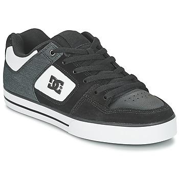 Schuhe Herren Skaterschuhe DC Shoes PURE SE M SHOE BKW Schwarz / Weiss
