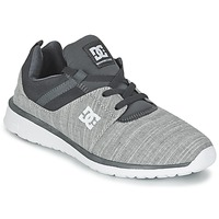 Schuhe Herren Sneaker Low DC Shoes HEATHROW SE M SHOE GRH Grau