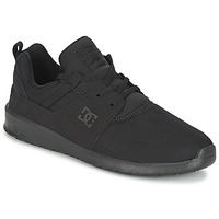 Schuhe Herren Sneaker Low DC Shoes HEATHROW M SHOE 3BK Schwarz