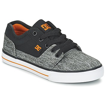 Schuhe Jungen Sneaker Low DC Shoes TONIK TX SE B SHOE BGY Schwarz / Grau / Orange