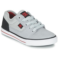 Schuhe Jungen Sneaker Low DC Shoes TONIK B SHOE XSKR Grau / Schwarz / Rot
