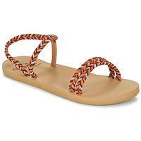 Schuhe Damen Zehensandalen Roxy LUANA J SNDL MLT Multifarben