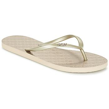 Schuhe Damen Zehensandalen Roxy VIVA III J SNDL GLD Gold