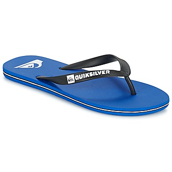 Schuhe Herren Zehensandalen Quiksilver MOLOKAI Schwarz / Blau / Weiss