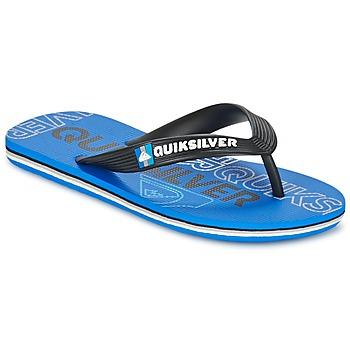 Schuhe Kinder Zehensandalen Quiksilver MOLOKAI NITROYT Schwarz / Blau