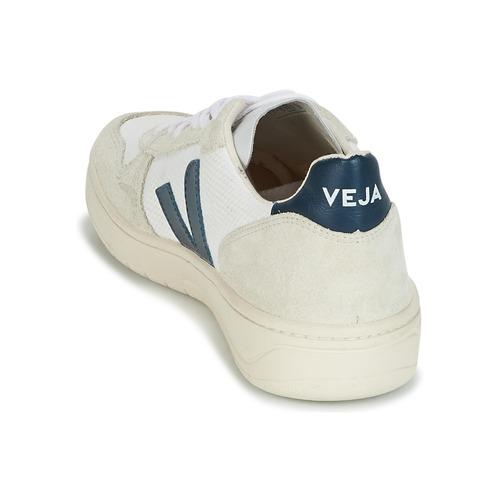Veja V-10 Weiss / Blau 87,20  Schuhe TurnschuheLow Herren 87,20 Blau 0e56fd