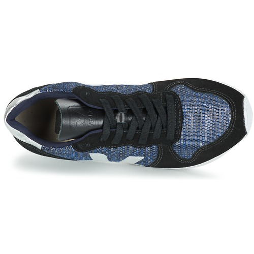 Veja HOLIDAY LOW TOP Schwarz / Blau / Silbern