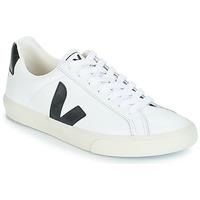 Schuhe Herren Sneaker Low Veja ESPLAR LOW LOGO Weiss / Schwarz