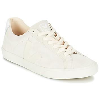 Schuhe Damen Sneaker Low Veja ESPLAR LOW LOGO Weiss
