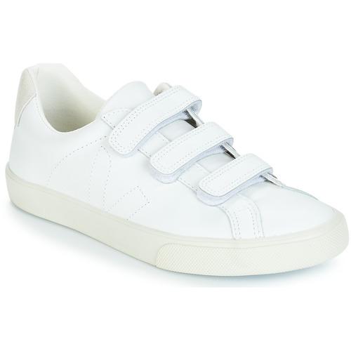 Veja 3 - LOCK LOCK LOCK Weiss  Schuhe Sneaker Low Damen 109 7b4576