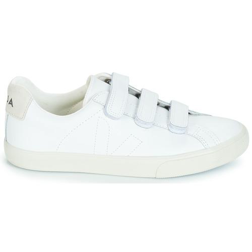 Veja 3 - LOCK Weiss Schuhe Sneaker Low Damen 109