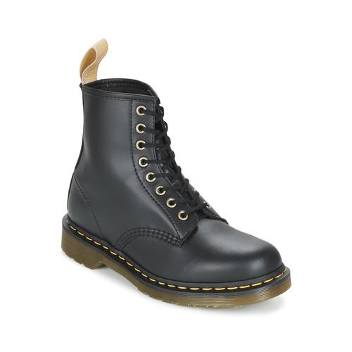 Dr Martens VEGAN 1460 Schwarz  Schuhe Boots  169