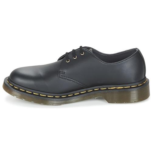 Dr Martens VEGAN 1461 Schwarz  Schuhe Derby-Schuhe  149