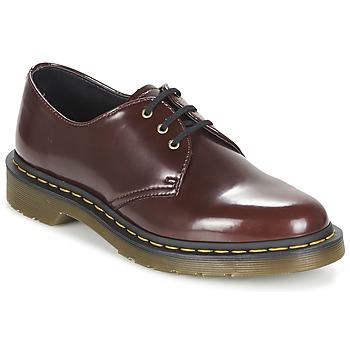 Schuhe Damen Derby-Schuhe Dr Martens VEGAN 1461 Rot / Kirsche