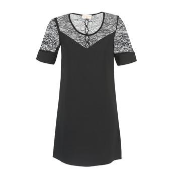 Kleidung Damen Kurze Kleider Moony Mood FUFU Schwarz
