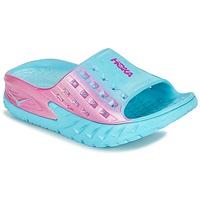 Schuhe Damen Wassersportschuhe Hoka one one W BONDI SLIDE Blau / Rose