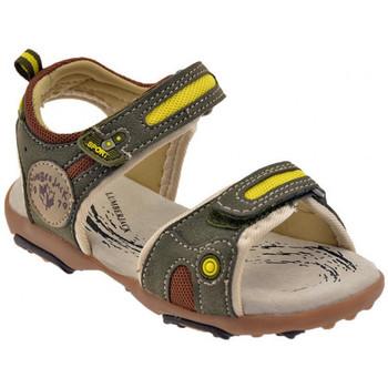Schuhe Kinder Sandalen / Sandaletten Lumberjack Free Kids Klett sandale