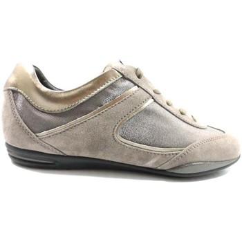 Schuhe Damen Sneaker Low Tod's sneakers beige wildleder bronze az570 beige