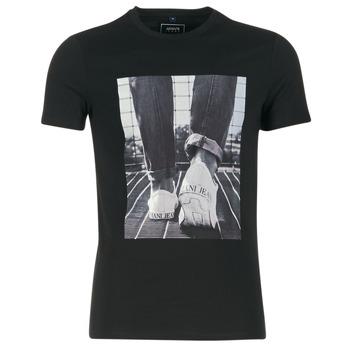 Kleidung Herren T-Shirts Armani jeans JANADORI Schwarz