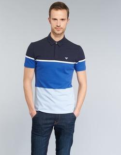 Kleidung Herren Polohemden Armani jeans MARAFOTA Blau