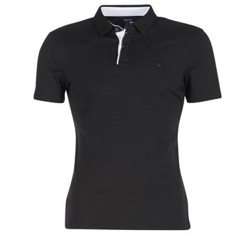 Kleidung Herren Polohemden Armani jeans MEDIFOLA Schwarz