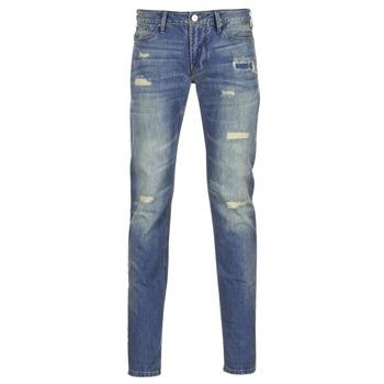 Kleidung Herren Slim Fit Jeans Armani jeans NAKAJOL Blau