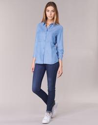 Kleidung Damen Röhrenjeans Armani jeans HERTION Blau