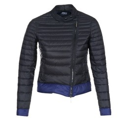 Kleidung Damen Daunenjacken Armani jeans BEAUJADO Schwarz / Blau