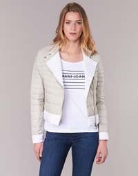 Kleidung Damen Daunenjacken Armani jeans BEAUJADO Beige / Weiss