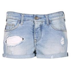 Kleidung Damen Shorts / Bermudas Armani jeans JUTELAPO Blau