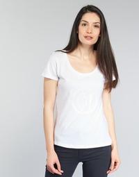 Kleidung Damen T-Shirts Armani jeans LASSERO Weiss