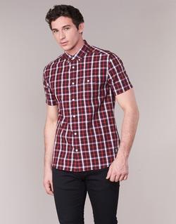 Kleidung Herren Kurzärmelige Hemden DC Shoes ATURA 5 SS Rot