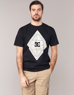 Kleidung Herren T-Shirts DC Shoes LONG DAY SS Schwarz