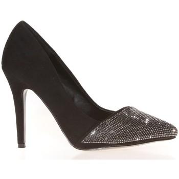 Schuhe Damen Pumps Cassis Côte d'Azur Escarpins Neptune Noir Schwarz