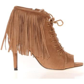 Schuhe Damen Sandalen / Sandaletten Cassis Côte d'Azur Cassis Côte d' azur Bottine Majorelle Camel Braun