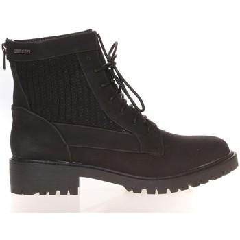 Schuhe Damen Boots Cassis Côte d'Azur Cassis Côte d' azur Bottine Amanda Noir Schwarz