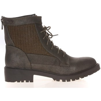 Schuhe Damen Boots Cassis Côte d'Azur Cassis Côte d' azur Bottine Amanda Kaki Grün