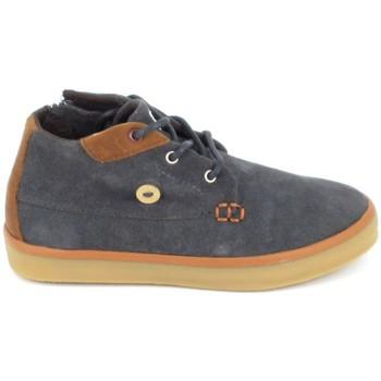 Schuhe Kinder Sneaker High Faguo Wattle Suede BB Gris Grau