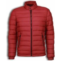 Kleidung Herren Daunenjacken Enos Winterjacken Kurze Down Jacke Rot