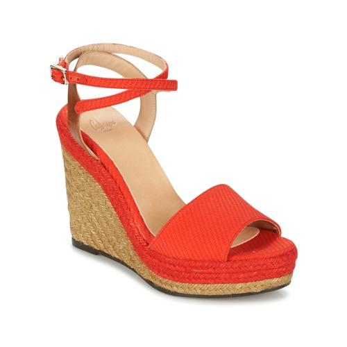 Castaner ADELA Rot  Schuhe Sandalen   Sandaletten Damen