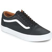 Schuhe Herren Sneaker Low Vans OLD SKOOL Schwarz / Weiss
