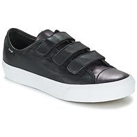 Schuhe Damen Sneaker Low Vans PRISON ISSUE Schwarz / Mettalfarben / Weiss