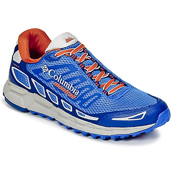 Schuhe Herren Laufschuhe Columbia BAJADA™ III Blau / Orange