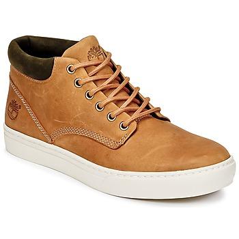 Schuhe Herren Sneaker High Timberland ADVENTURE 2.0 CUPSOLE CHK Braun