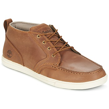 Schuhe Herren Sneaker Low Timberland FULK LP CHUKKA MT LEATHER Braun