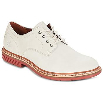 Schuhe Herren Derby-Schuhe Timberland NAPLES TRAIL OXFORD Weiss