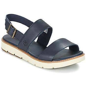 Schuhe Damen Sandalen / Sandaletten Timberland BAILEY PARK SLINGBACK Marine