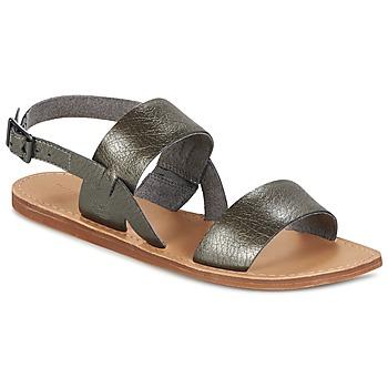Schuhe Damen Sandalen / Sandaletten Timberland CAROLISTA SLINGBACK Grau